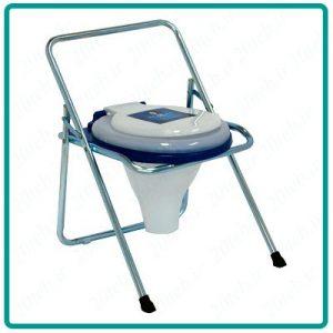 توالت ساده تاشو