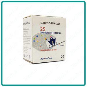 نوار تست قند خون بایونیم Bionime